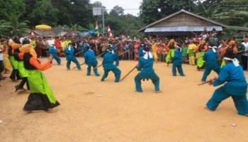 Asal Muasal, Pesta Adat Suku Jerieng Pelangas, Simpang Teritip