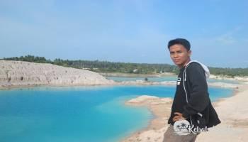 Inilah Lokasi Danau Kaulin yang ada di Kabupaten Bangka