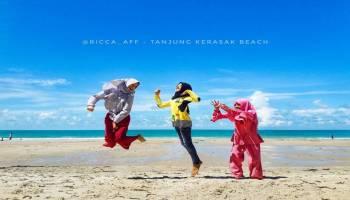Liburan ke Bangka, Ayo ke Pantai Tanjung Kerasak