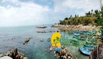 Inilah Spot Snorkling di Bangka yang ga' perlu naik perahu,..
